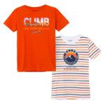 Μπλούζες Πορτοκαλί Ριγέ Mayoral 6066