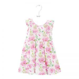 floral φόρεμα κορίτσι 2110